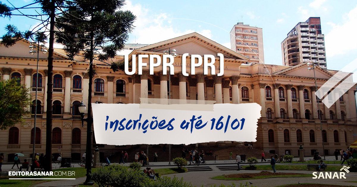 UFPR (PR): concurso tem 4 vagas abertas para profissionais de Saúde. Salários de R$ 4,2 mil