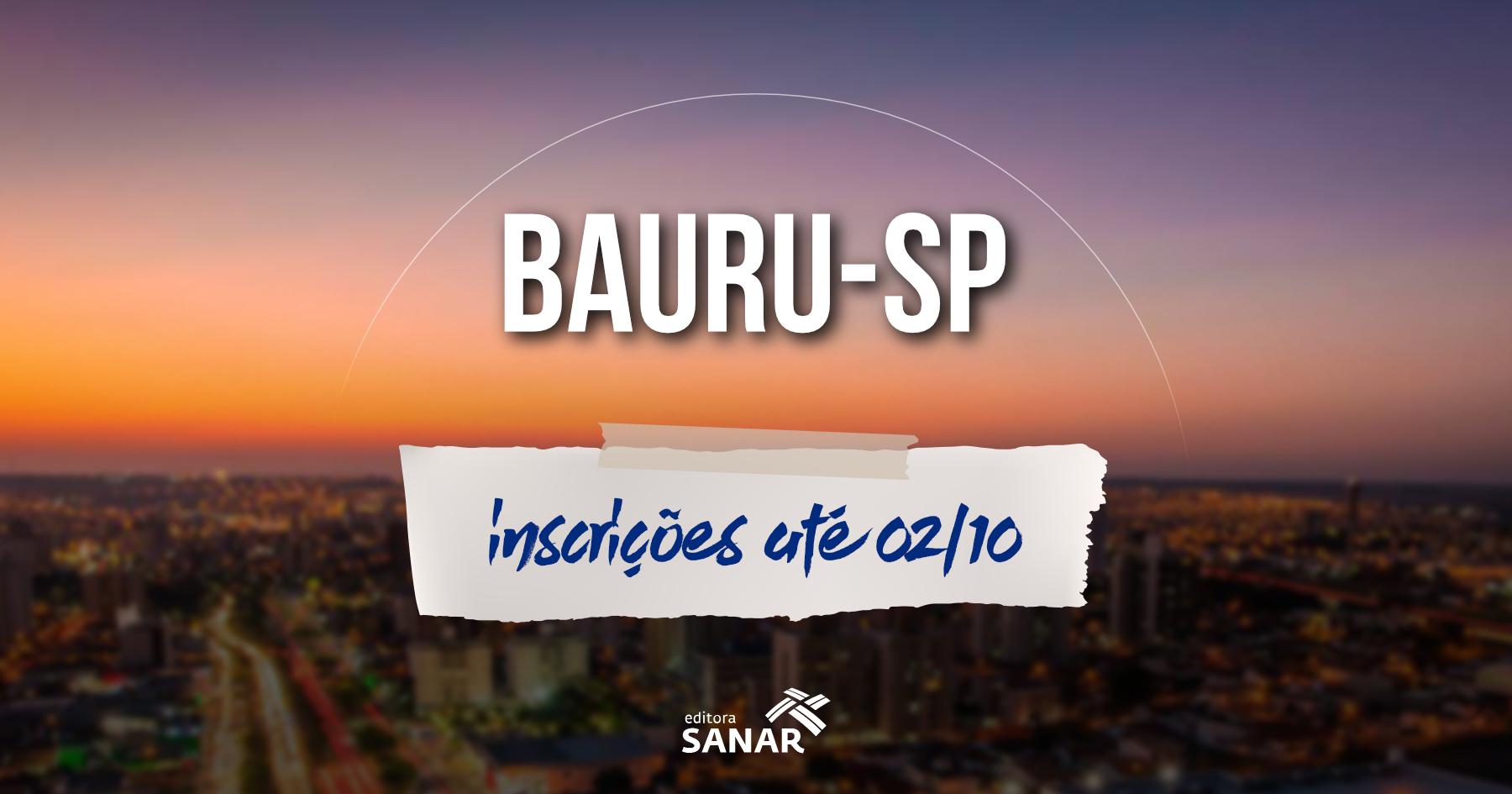 Concurso   Prefeitura de Bauru (SP) seleciona médicos