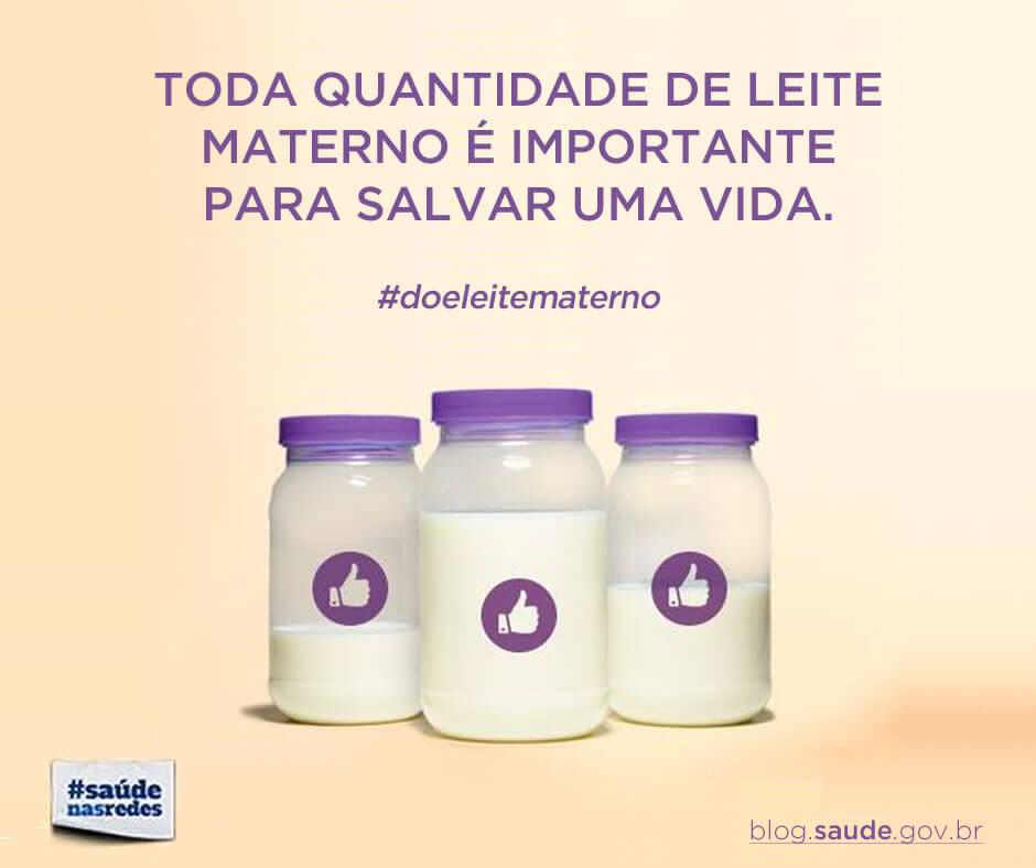 Ministério da Saúde lança campanha para incentivar doação de leite materno