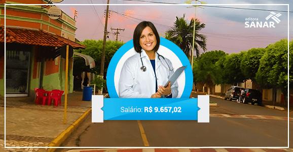 Concurso para Médicos em São Paulo tem remuneração de R$ 9.657,02