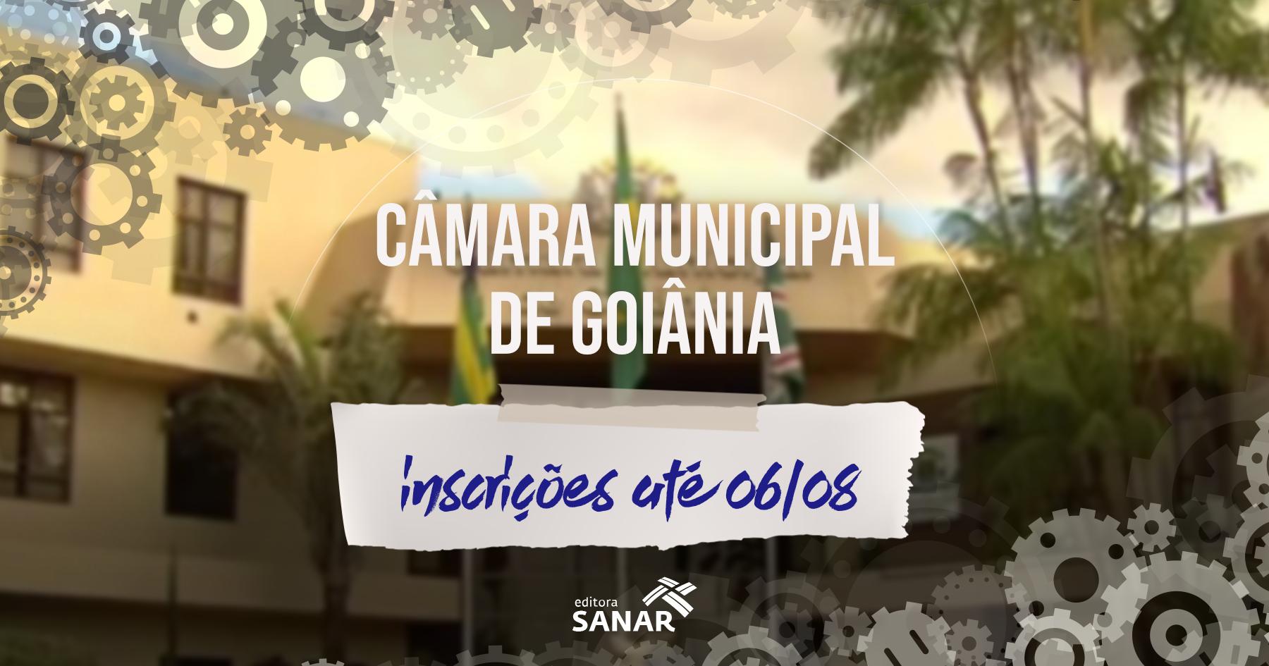 Concurso   Câmara de Goiania divulga edital