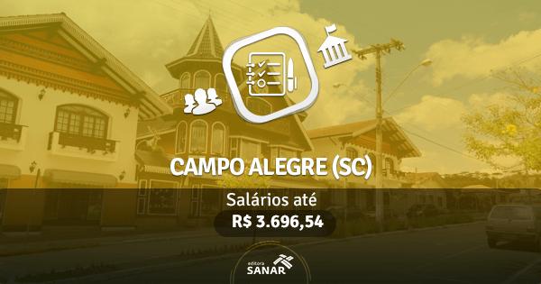 Prefeitura de Campo Alegre (SC): edital com vagas para Enfermagem, Farmácia, Odontologia e mais