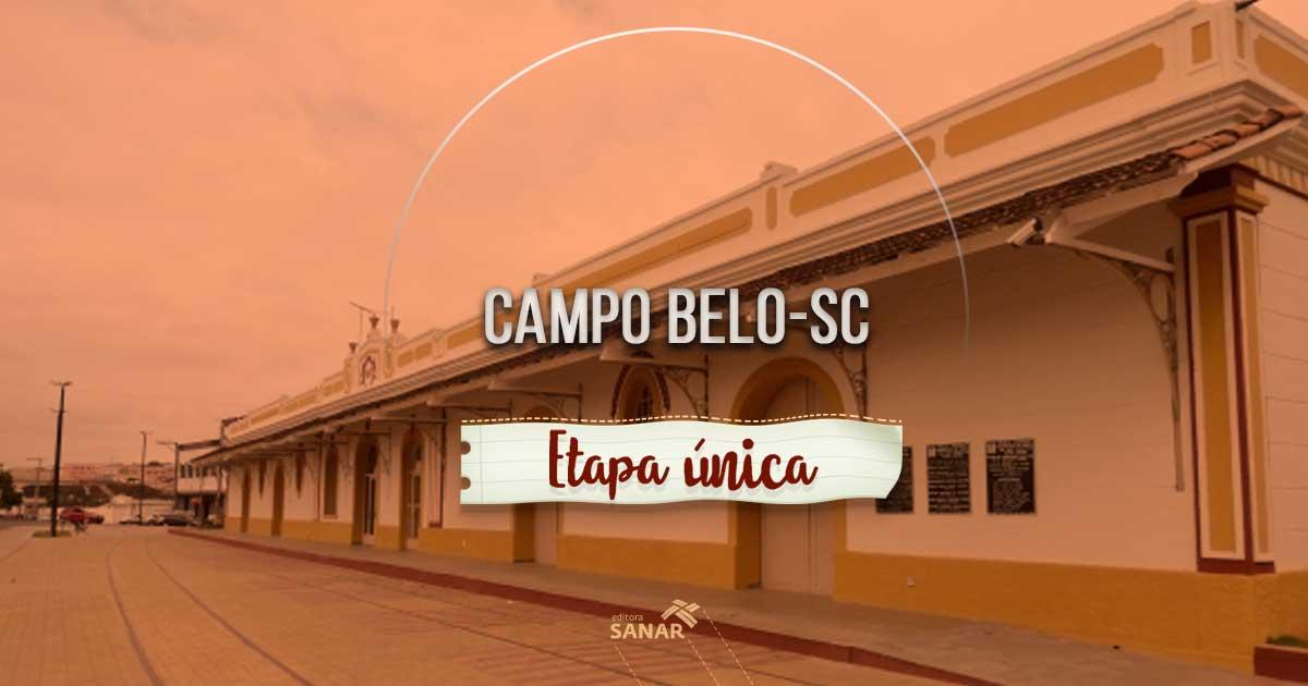 Campo Belo do Sul (SC) oferta vagas a profissionais de saúde por seleção de fase única