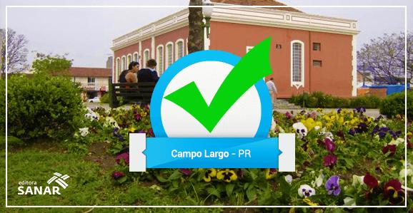 Prefeitura de Campo Largo - PR abre concurso para Dentistas e Psicólogos