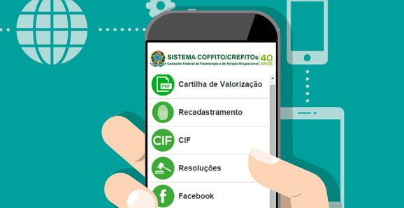 COFFITO lança aplicativo com Cartilhas de Valorização e Dignidade Profissional