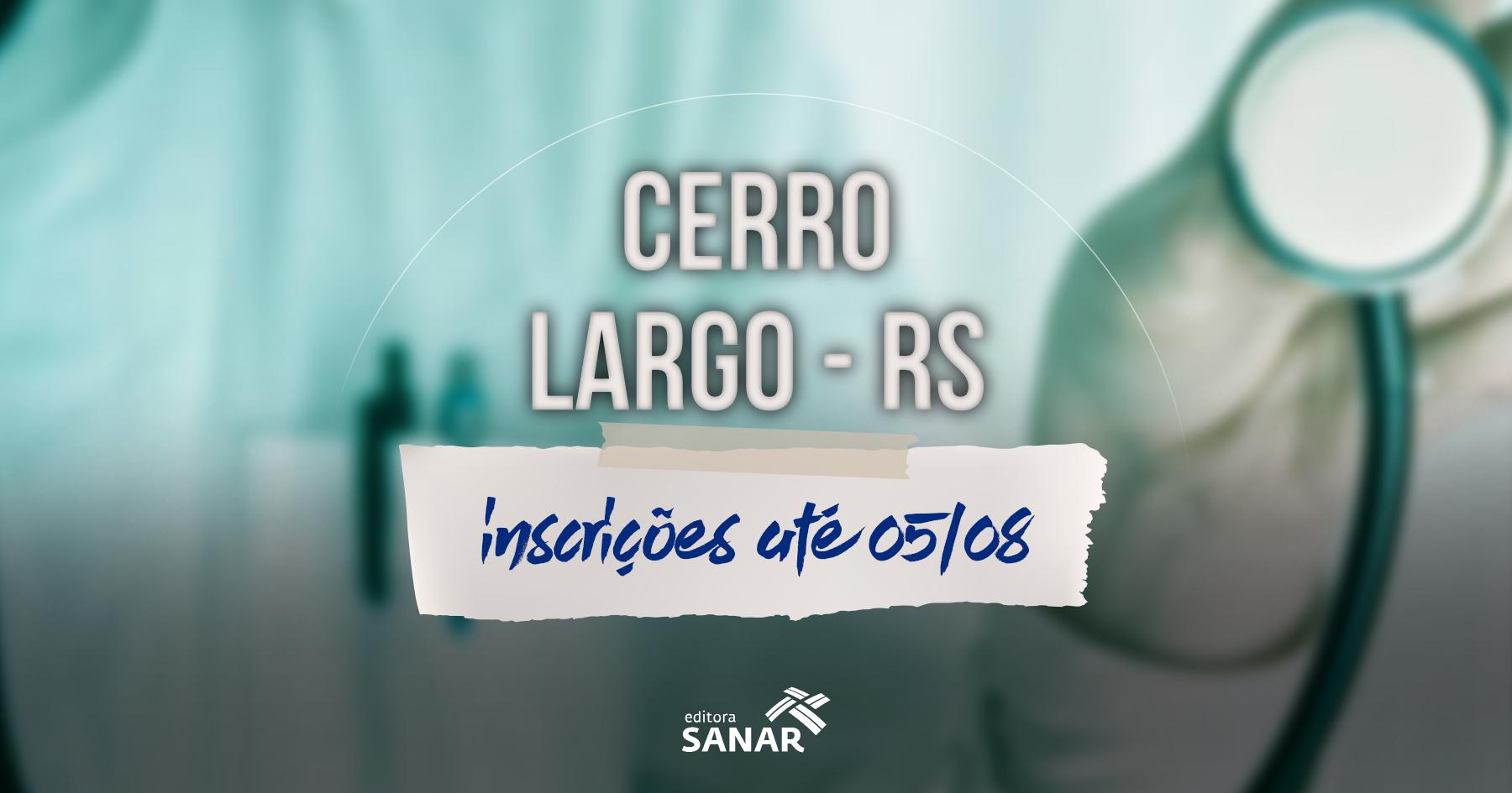 Concurso | Cerro Largo (RS) tem vaga para médicos