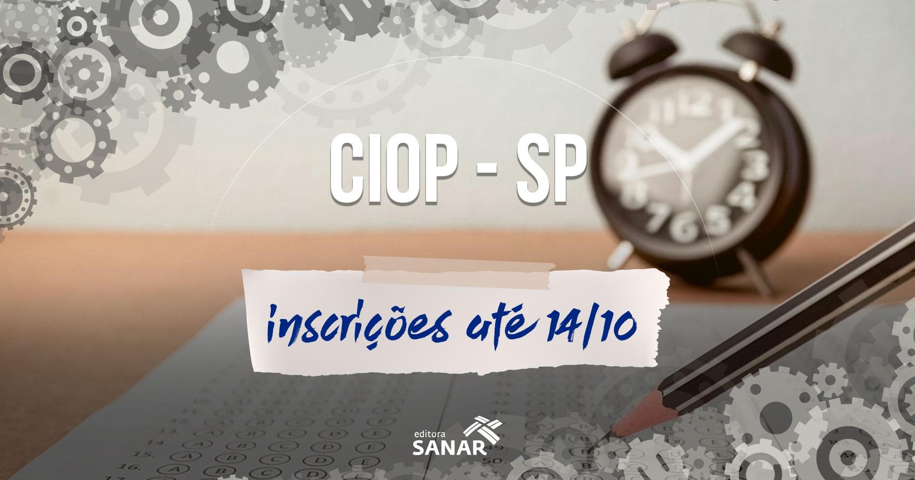 Concurso CIOP | Edital oferece vagas no oeste paulista