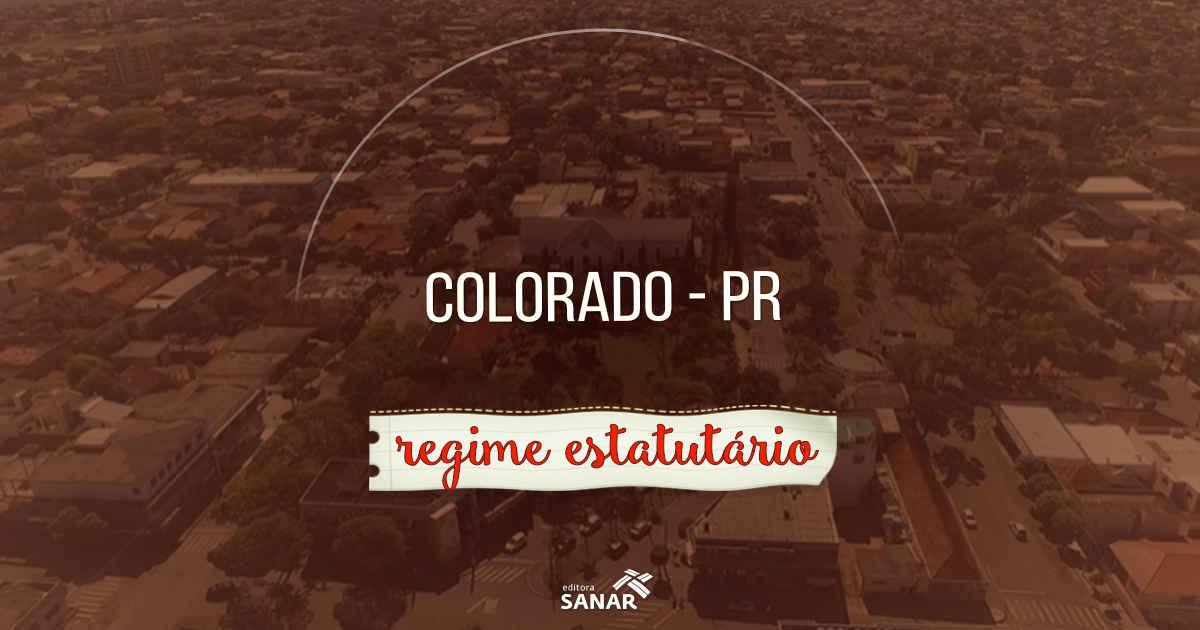 Prefeitura de Colorado (PR) tem vagas para áreas de Enfermagem, Fisioterapia e Psicologia