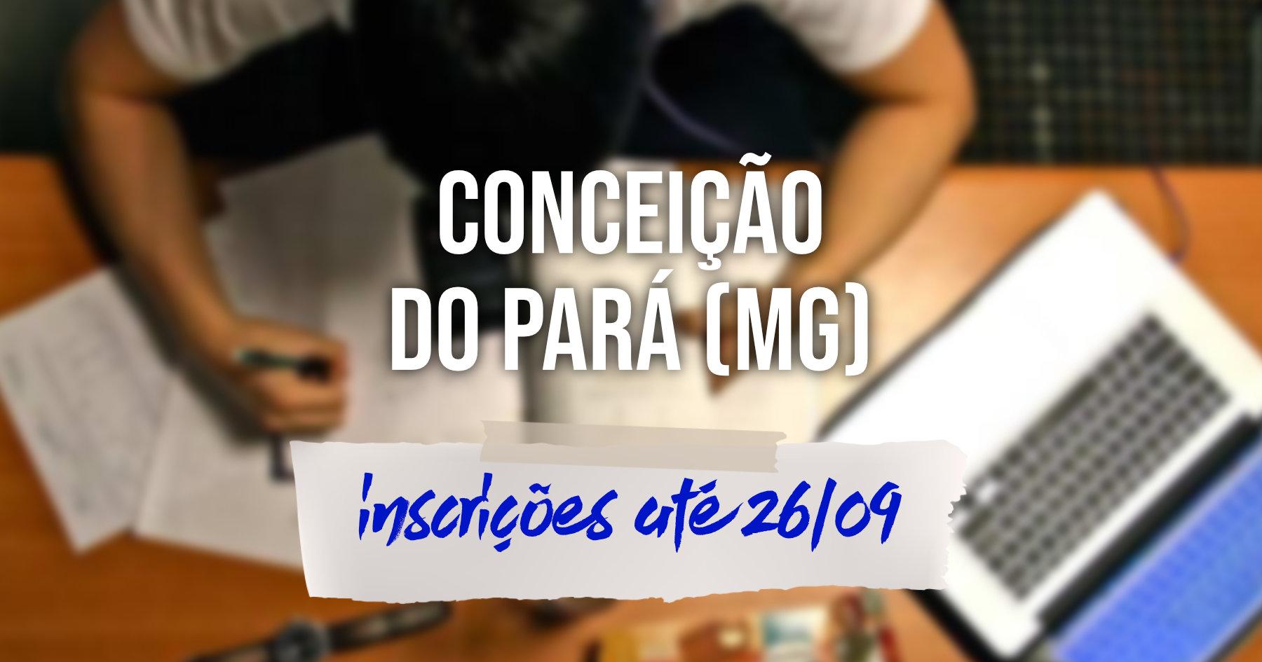 Concurso | Conceição do Pará (MG) divulga edital