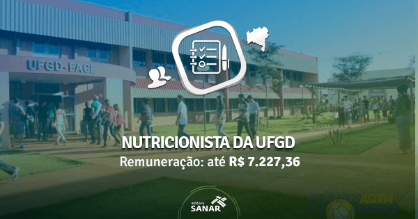 UFGD abre concurso em 2016 com vagas para Nutricionistas