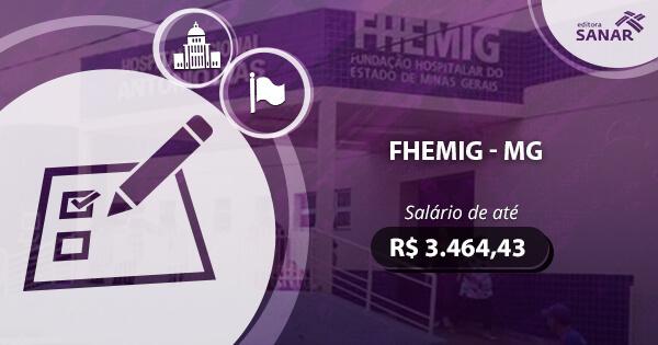 Concurso FHEMIG 2017: edital publicado com vagas para Enfermagem e Farmácia