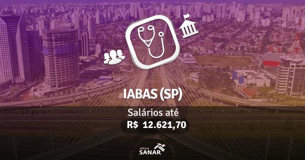 IABAS - SP: edital publicado com vagas para Medicina