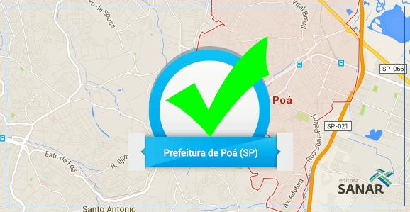 Concurso público para a Prefeitura de Poá para enfermeiros, farmacêuticos, nutricionistas e médicos