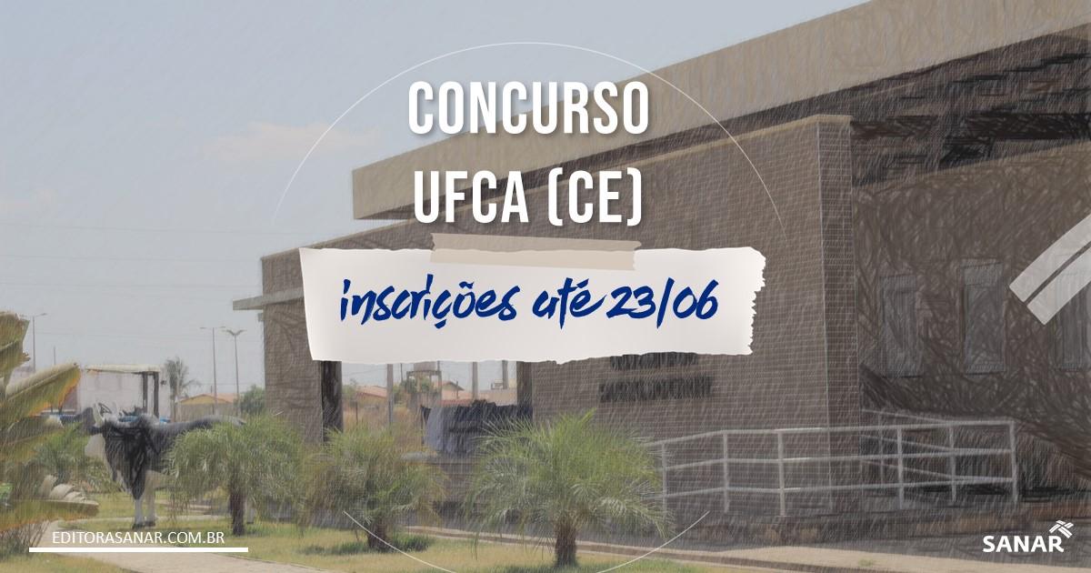 Concurso UFCA - CE: salário de até R$7,7 mil na Saúde