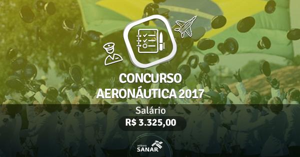 Concurso Aeronáutica 2017: edital publicado com 45 vagas para Enfermeiros