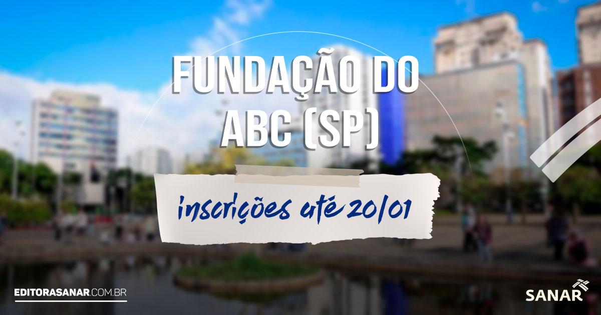 Fundação do ABC - SP: processo seletivo tem 22 vagas na área da Saúde em Santo André. Salário de até R$ 4,7 mil