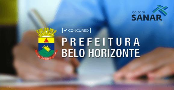 Concurso Prefeitura de Belo Horizonte (MG)