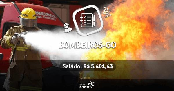 Corpo de Bombeiros de Goiás abre concurso com vagas na Saúde