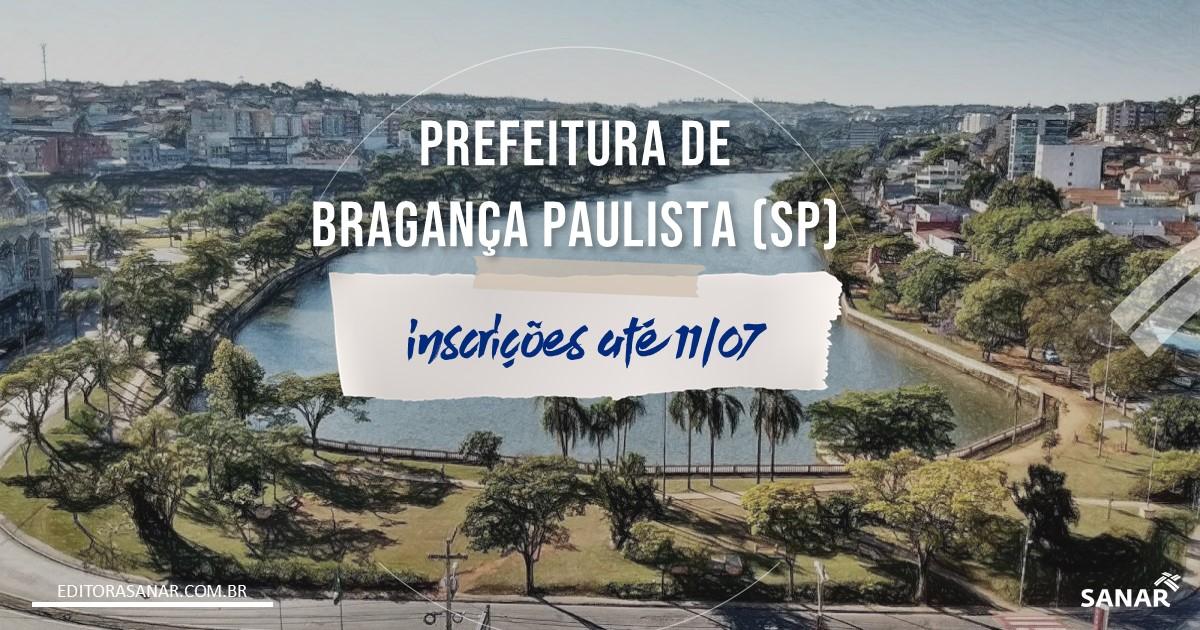 Concurso de Bragança Paulista - SP: vagas para área da Saúde!