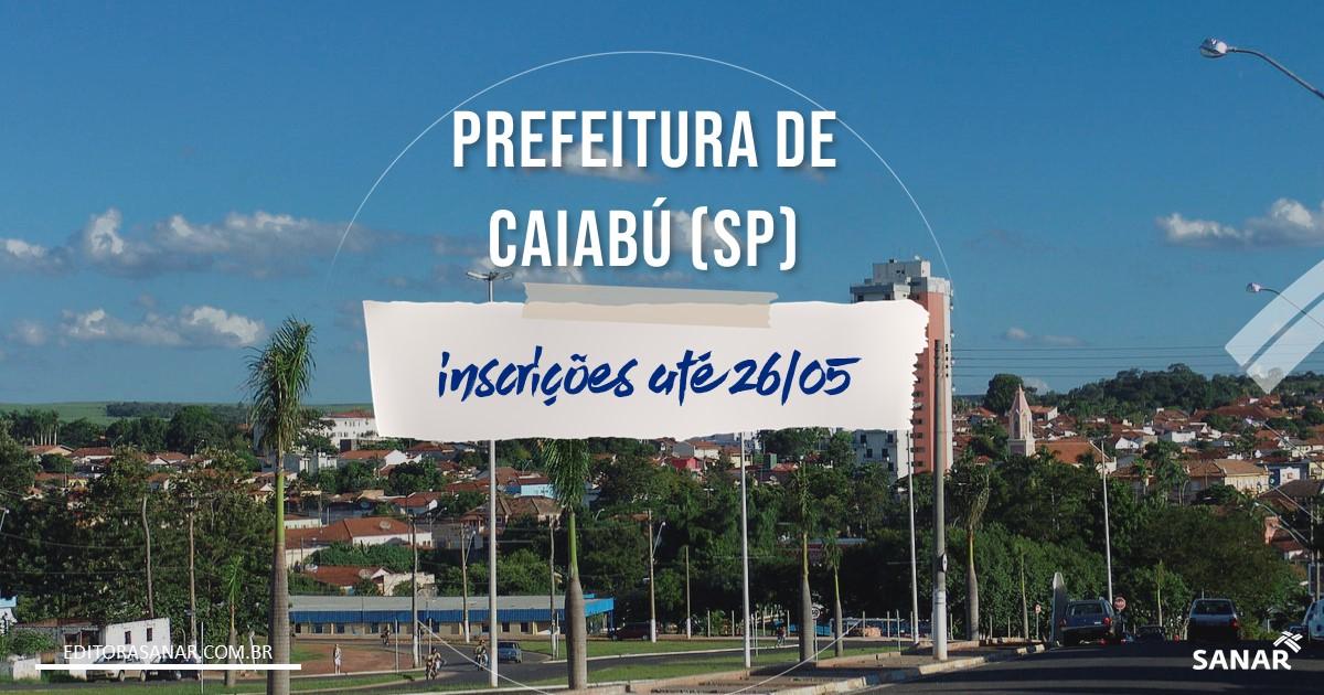 Concurso Prefeitura de Caiabu (SP) - Vagas para Saúde