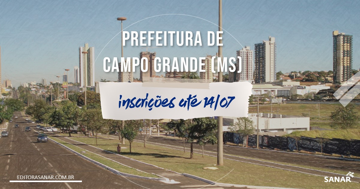Concurso de Campo Grande - MS: 633 vagas na área da Saúde!