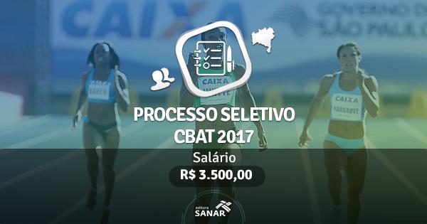 Processo Seletivo CBAt 2017: edital publicado com vagas para Fisioterapeutas