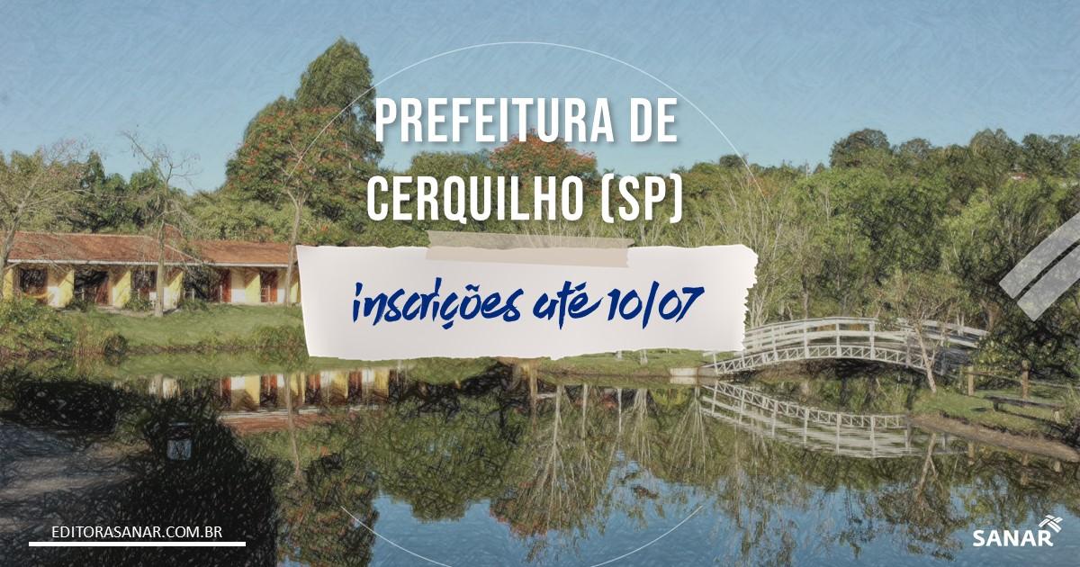 Concurso de Cerquilho - SP: salários de até R$11,7 mil na Saúde!