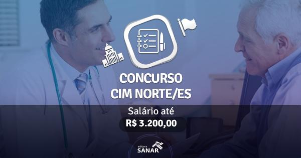 Concurso CIM Norte/ES: edital publicado com vagas para Farmacêuticos, Psicólogos e Fisioterapeutas