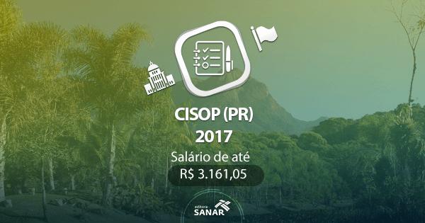 Concurso CISOP (PR): edital com vagas para Nutrição, Enfermagem, Farmácia e Psicologia