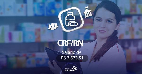 Concurso CRF/RN: vaga para farmacêutico com salário de R$3.573,51