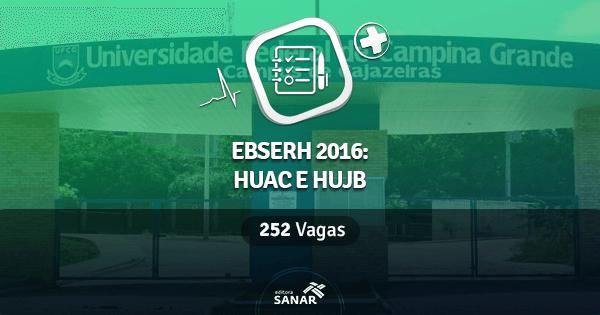 Concurso da Ebserh-UFCG abre vagas no HUJB e HUAC