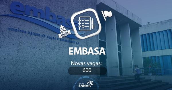 Embasa (BA) abrirá concurso esse ano com novas 600 vagas