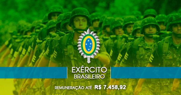 Exército abre seleção para Nutricionistas com salários de até R$7.458,92
