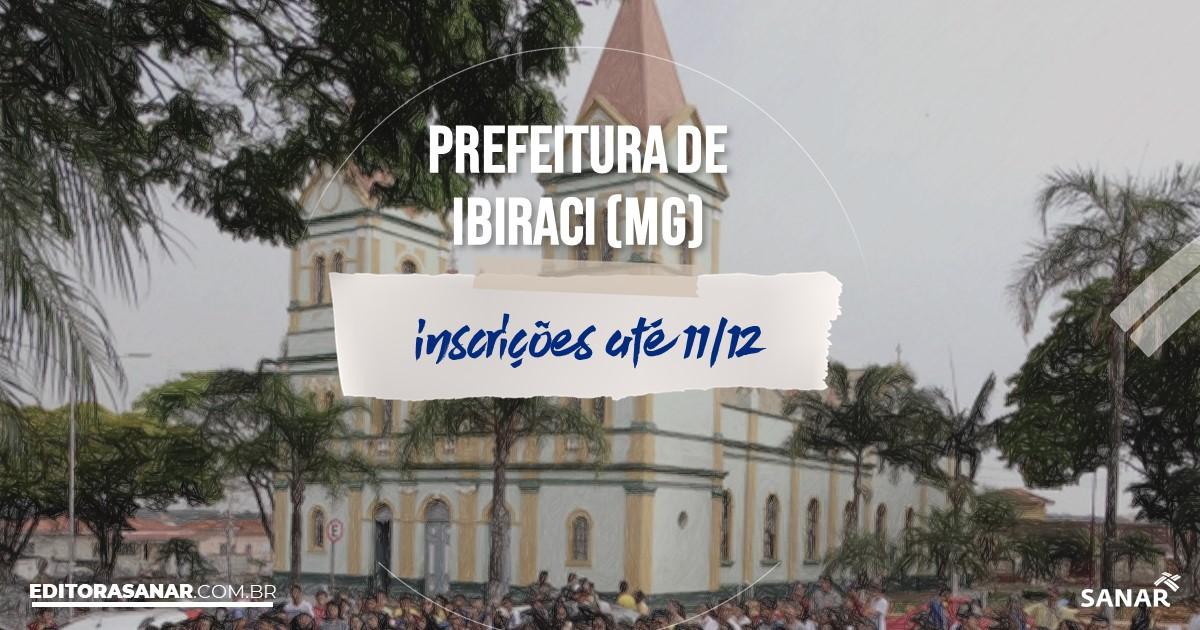 Concurso de Ibiraci - MG: vagas imediatas na Saúde!