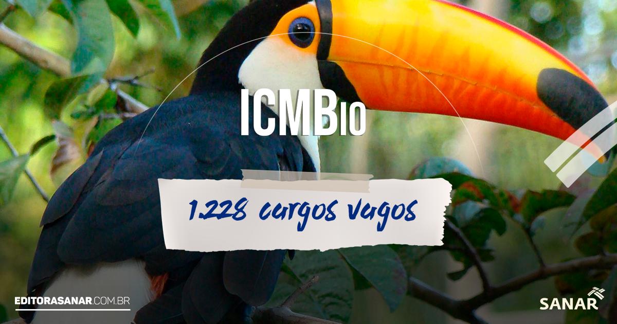 Concurso ICMBio: 1.228 cargos vagos