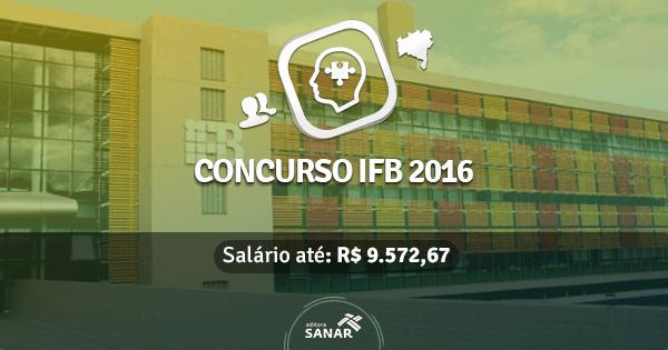 Instituto Federal de Brasilia abre concurso com vagas para Psicólogos