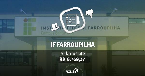 IF Farroupilha 2016 abre vagas para Dentistas e Médicos
