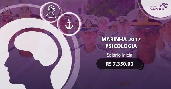 Concurso Marinha para Psicólogos 2017: edital publicado