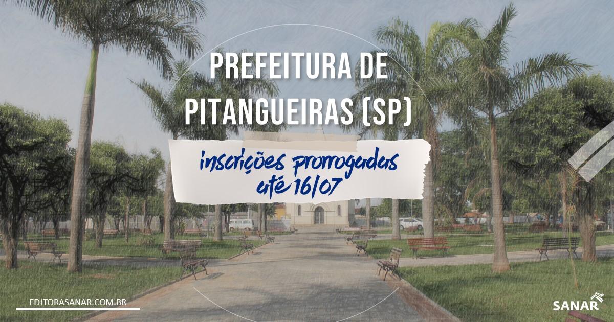 Concurso de Pitangueiras - SP: salário de até R$10 mil da Saúde! Inscrições prorrogadas!