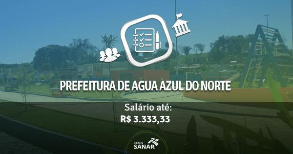 Prefeitura de Água Azul abre concurso com vagas para Enfermeiros, Psicólogos e Veterinários