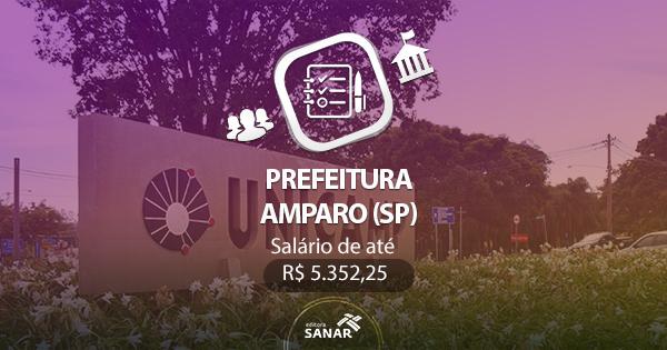 Concurso Prefeitura de Amparo (SP) 2017: edital divulgado com vagas em Psicologia, Farmácia e Fisioterapia