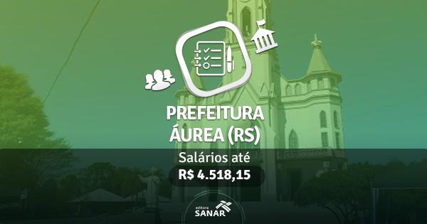 Prefeitura de Áurea (RS): edital publicado com vagas para Dentistas, Enfermeiros, Farmacêuticos e Veterinários