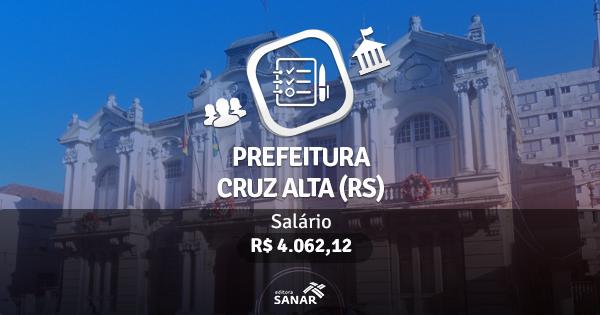 Concurso Prefeitura de Cruz Alta (RS): edital publicado com vaga para Dentistas