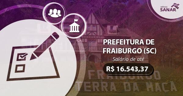 Concurso Prefeitura de Fraiburgo (SC) 2017: edital publicado com vagas para Enfermagem, Medicina e mais