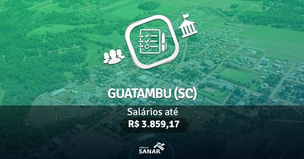Concurso Prefeitura de Guatambu (SC): edital publicado com vaga para Farmácia