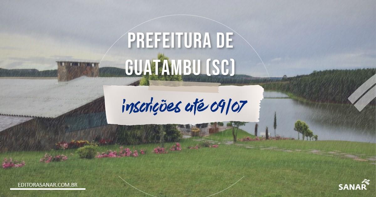 Concurso de Guatambu - SC: salário de até R$11,5 mil da Saúde!