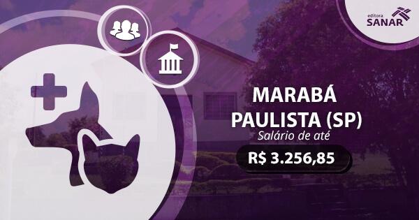 Concurso Prefeitura de Marabá Paulista 2017: edital publicado com vagas para Medicina Veterinária