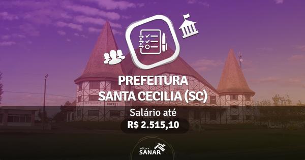 Prefeitura de Santa Cecília (SC): edital publicado com vagas para Psicólogos, Enfermeiros, Fisioterapeutas e Farmacêutic