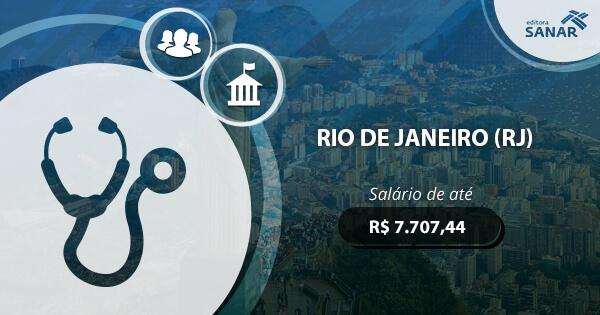 Concurso Prefeitura do Rio de Janeiro (RJ) 2017: vagas para Medicina