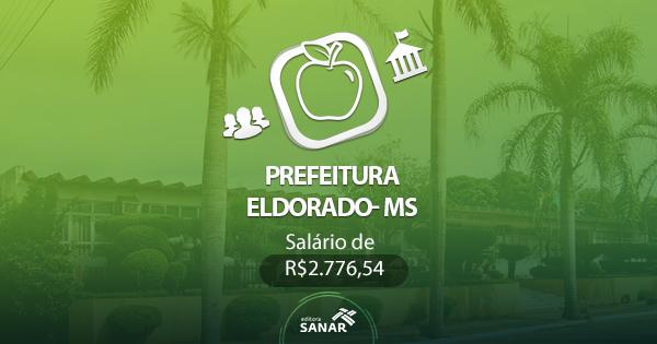 Concurso Prefeitura de Eldorado - MS 2017: edital divulgado com vagas em Nutrição